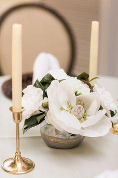Something Borrowed Blooms Magnolia Centerpiece Centerpiece Rentals, Floral Centerpieces, Wedding Flower Arrangements, Wedding Centerpieces, Magnolia Centerpiece, Centerpiece Ideas, Fall Wedding Flower Inspiration, Neutral Wedding Flowers, Floral Wedding