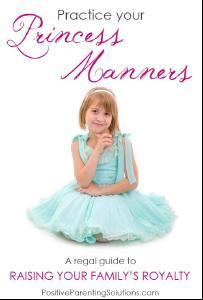 """Practice your """"Princess Manners"""""""