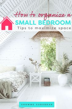 I needed some tips and ideas for how to save space in my small bedroom. This article gave me so much info on tiny bedroom storage and organization hacks! It really helped me maximize the space in my room. Under Bed Organization, Small Bedroom Organization, Under Bed Storage, Built In Storage, Organizing Ideas, Organization Hacks, Extra Storage Space, Storage Spaces, Tiny Bedroom Storage