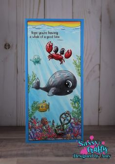 Coloringbook Backgrounds - Under the Sea   Sassy and Crafty
