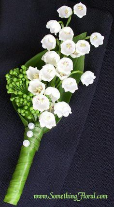 lilly of the valley boutenier - Google Search
