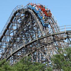 Cedar Point....love the coasters at Ceder Point