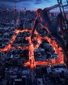 """MCU Spider-Man in Hell's Kitchen - DC & MARVEL EDITS (@sar.cas.ticgeek) on Instagram: """"Sorry for my absence on the account"""""""