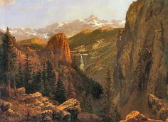 Nevada Falls, Yosemite ALBERT BIERSTADT