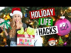 DIY HOLIDAY LIFE HACKS: Christmas Gifts, Snacks & Decor | LaurDIY - YouTube