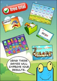 Literacy and Math Games ROCK!!! Click here to have us send you FREE PRINTABLE games to try with your students every week. Subtraction Games, Multiplication Games, Math Games, Rainbow Facts, Relief Teacher, Addition Games, Classroom Organisation, Math Centers, Math Lessons
