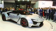 From the team that built the Lykan HyperSport, this is the Fenyr SuperSport. Limited to just 25 unit... - Dubai International Motor Show