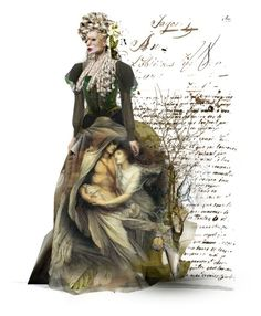 masquerade by theamaia on Polyvore featuring art