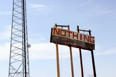 I took a picture of this exact sign last summer.  I'm pretty sure it was in Nevada.
