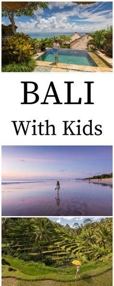 Take your kids to Bali! This is where we stayed, what we did and what we liked best. Bali with kids - just as fun as Bali without kids! Bali With Kids, Travel With Kids, Family Travel, Travel Advice, Travel Guides, Travel Tips, Travel Plan, Travel Abroad, Amazing Destinations
