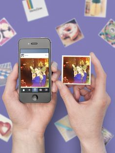 Turn your holiday Instagrams into cool little magnets//