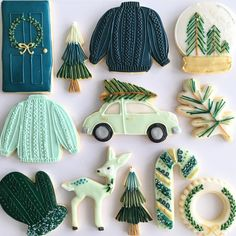 65 Best Christmas Cookies That Are Perfect for Any Holiday Gathering - Page 49 of 65 - Lily Fashion Style Merry Christmas Eve, Christmas Sugar Cookies, Holiday Cookies, Christmas Desserts, Christmas Treats, Christmas Baking, Christmas Fun, Xmas, Christmas Decorations