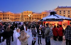 Christmas Market at Schönbrunn Palace, Vienna, Austria. © SKB / Julius Silver - http://www.schoenbrunn.at/en/services/media-center/photo-gallery/christmas-market-schoenbrunn.html