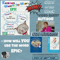 Creating a video to support literacy.  StanleyNKatrina's Word of the Week - EPIC.  Can YOU use epic in a sentence?