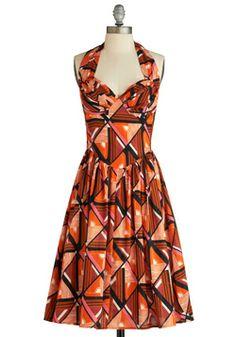 Graphic Patterns Dress