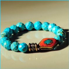 #RLTTurquoiseCollection This fabulous @rltcollection bracelet Check it out at http://www.rltcollection.com click link in bio to purchase. #beading #handmade #bracelet #turquoise #chicagodesigner