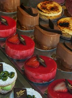 French pastries.