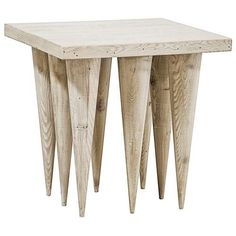 25 inches high x 25 inches wide x 25 inches deep Reclaimed Lumber, Reclaimed Wood Furniture, Custom Furniture, Square Side Table, Side Tables, Modern Side Table, Douglas Fir, Clever Design, Rustic Design