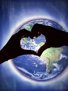 Earth Day - Love and protect #earth #heart #love
