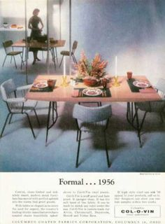 Col O Vin Howell Metal Furniture (1956) A Gorgeous Pink And Gray