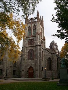 Fordham University Church. the social center of campus at 10PM every Sunday