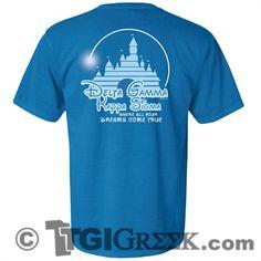 TGI Greek - Delta Gamma - Kappa Sigma - University of Tulsa - Date Party - Comfort Colors - Greek Tshirts