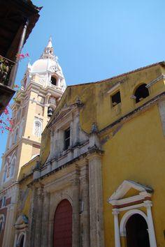 Catedral de Santa Catalina de Alejandria, Cartagena, Colombia.