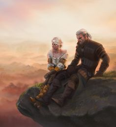 Slugette's Space — The Witcher I wanted to capture a peaceful moment...