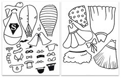 Free printable.  Could be used for a disguise the turkey craftivity?