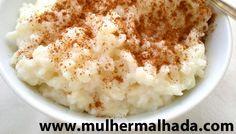 Receita deliciosa de arroz doce integral proteico:     Ingredientes:     50g de arroz integral cozido   3 colheres de sopa de adoçante para...