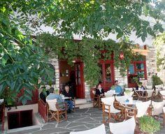 Café à Filoti - Naxos
