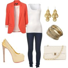Love the blazer!! Plan on wearing this color a lot this summer :]