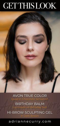 Adrianne Curry, Sculpting Gel, Avon True, Nude Lip, Grey Hair, All Things Beauty, Reality Tv, Smokey Eye, Natural Makeup