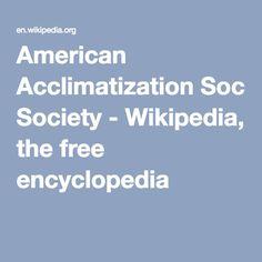 American Acclimatization Society - Wikipedia, the free encyclopedia Superman Wonder Woman, American, Free, Inspiration, Women, Biblical Inspiration, Women's, Inhalation