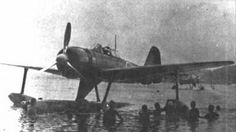 The A6M2-N float plane version of the Zero
