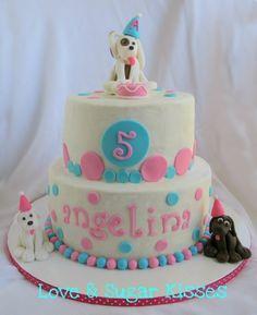 Cute puppy cake!!