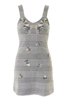 34cc5ff0d7bf78 Gingham Pinafore Dress - Dresses - Clothing