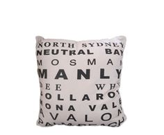 North Sydney cushion