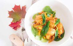 Aitoa arkiruokaa: Mausteinen perunasalaatti