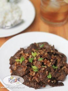Filipino Beef Salpicao Recipe