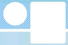 Montando a minha festa: Fundo Azul Poá e Listras CAIXAS PARA TODA A FESTA Formtos e tamanhos diferentes