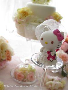 hello kitty wedding cake topper - Google Search