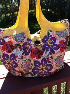 Cosmo Bag by SemperFabDesigns on Etsy, $56.00