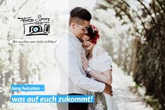 Ihr seid unsterblich verliebt und möchtet mit dem Heiraten nicht lange warten, weil ihr einfach wisst, dass euer Partner der oder die Richtige für euch ist? Im jungen Alter zu heiraten hat gewisse Vor- und Nachteile. Um euch einen kleinen Überblick darüber zu verschaffen, was da eigentlich auf euch zukommt, haben wir diesen Artikel verfasst. #hochzeit #heiraten #hochzeitsbilder #hochzeitsfotos #hochzeitstipps Couple Photos, Couples, In Love, Getting Married, Waiting, Boys, Simple, Couple Shots, Couple Photography