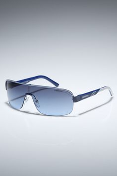 Carrerino Sunglasses in Blue and White    http://www.beyondtherack.com/member/invite/B7C53751