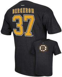 Men s Reebok Boston Bruins Patrice Bergeron Player Tee 248477ca0