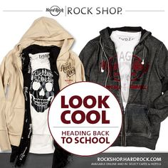 Look cool heading back to school! Layer up in our Rock Shop or online now. #ThisIsHardRock http://hardrock.co/1oJyTrz