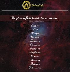 Astrology Signs, Zodiac Signs, Astrological Sign, Tu Me Manques, Code Promo, Positive And Negative, Horoscope, Cancer, Zodiac Signs Leo