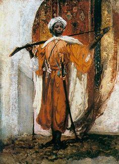 Moorish painting