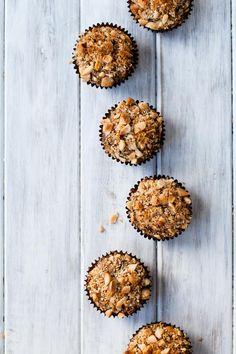 Coconut Chocolate Chunk Banana Macadamia Nut Muffins {gluten-free} - Snixy Kitchen - Snixy Kitchen
